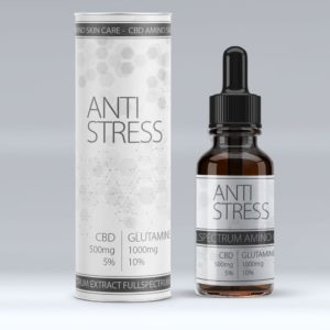 Amino care Anti Stress Cbd oil (5%) 10mL