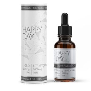 Amino care Happy Day Cbd oil (5%) 10mL